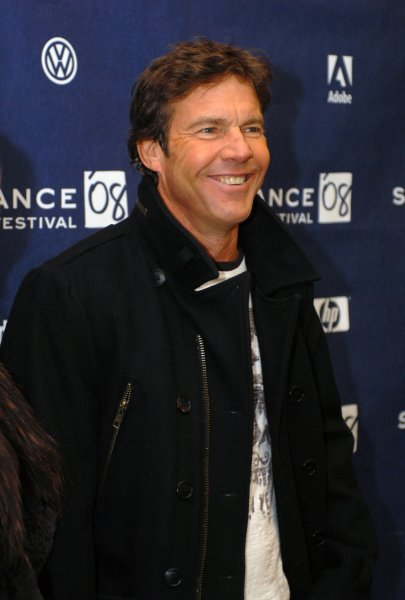 Actor Dennis Quaid attends the premiere of his film Smart People at the Eccles Theater during the Sundance Film Festival in Park City, Utah on January 20, 2008. (UPI Photo/Alexis C. Glenn)