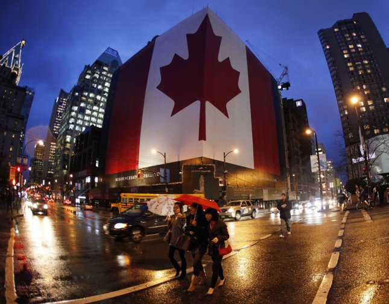 Downtown Vancouver, British Columbia. File/UPI/Brian Kersey