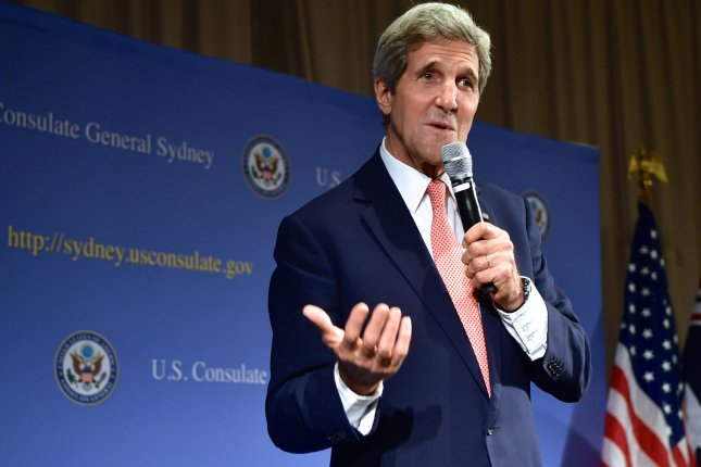 U.S. Secretary of State John Kerry will travel to Asia from Nov. 10-16, 2014. (UPI/U.S. State Department)