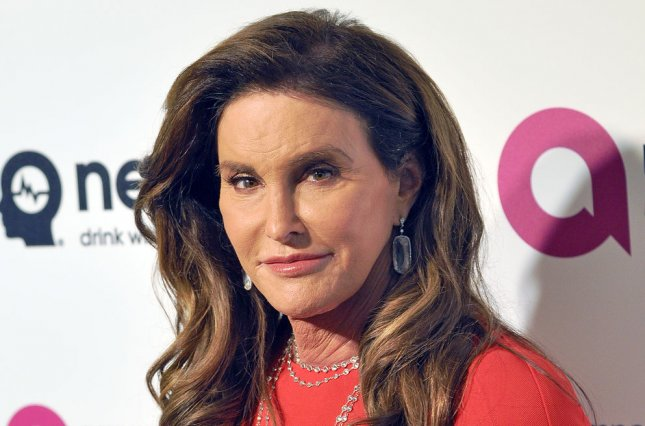 Caitlyn Jenner at the Elton John AIDS Foundation Academy Awards viewing party on February 28. File Photo by Christine Chew/UPI