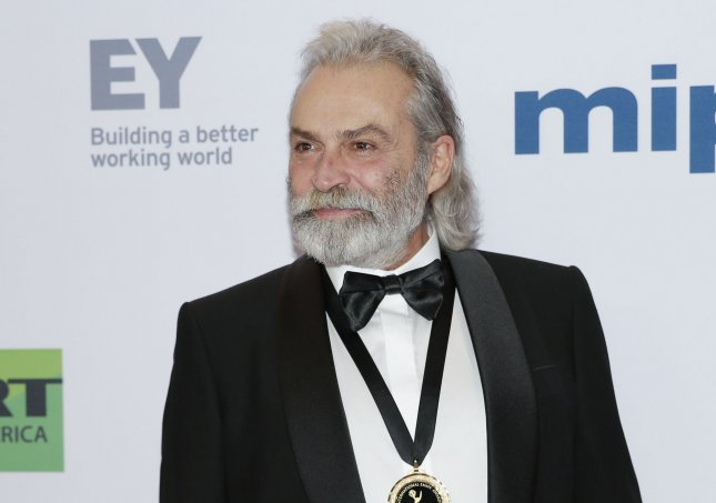 Actor Haluk Bilginer arrives on the red carpet at the 47th International Emmy Awards in New York City on Monday. File by John Angelillo/UPI
