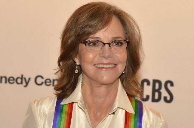 Sally Field, a 2019 Kennedy Center Honoree, arrives for the Kennedy Center gala performance on Sunday. Photo by Mike Theiler/UPI