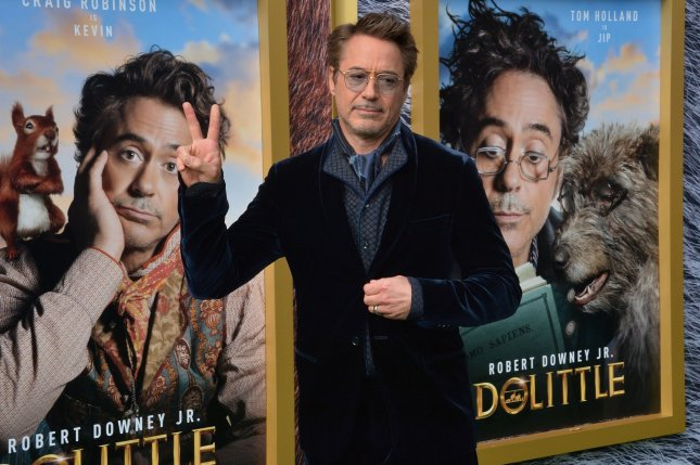 Robert Downey Jr.'s Dolittle was nominated for six Razzie Awards Friday. File Photo by Jim Ruymen/UPI.