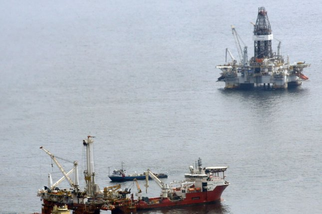 An offshore trade group gives the Trump administration a mixed grade on sector support ahead of an auction for rights to drill into the Gulf of Mexico. File Photo by A.J. Sisco/UPI