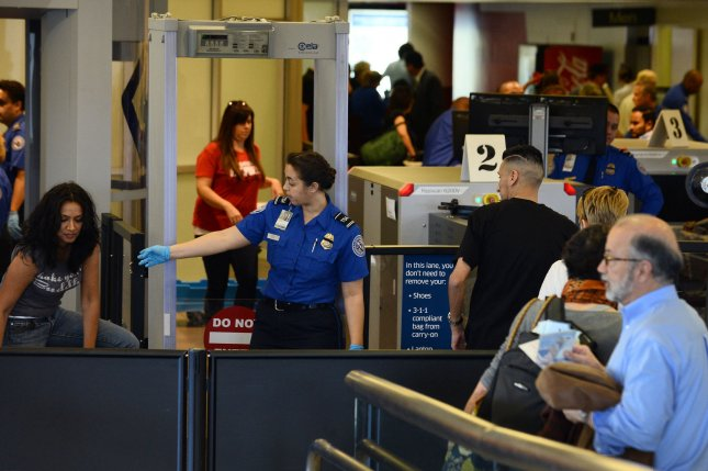 A TSA union official said the influx in call-outs will affect air passengers, but the agency said they have had minimal impact. File Photo by Jim Ruymen/UPI