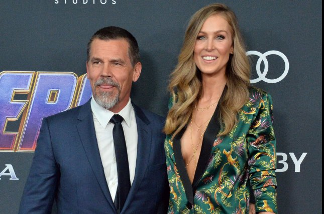 Josh Brolin (L) and Kathryn have welcomed their second child. File Photo by Jim Ruymen/UPI