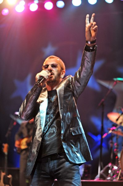 Ringo Starr performs in concert at the Seminole Hard Rock Hotel and Casino in Hollywood, Florida on July 3, 2008. (UPI Photo/Michael Bush)