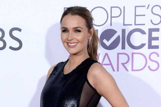 Camilla Luddington attends the People's Choice Awards on January 18. The actress announced Tuesday that she recently welcomed daughter Hayden. File Photo by Jim Ruymen/UPI