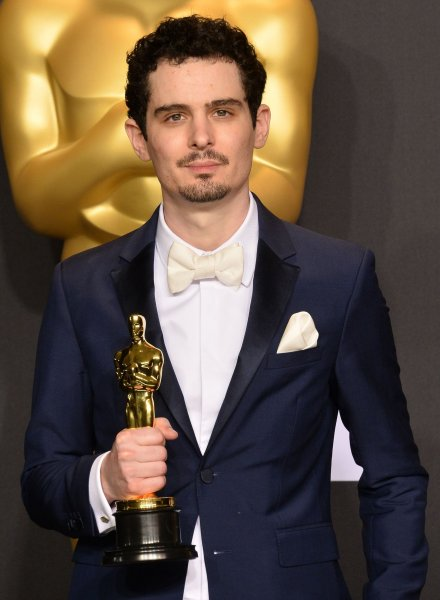 Filmmaker Damien Chazelle appears backstage during the 89th annual Academy Awards on February 26. Chazelle is developing a music drama series for Netflix. File Photo by Jim Ruymen/UPI