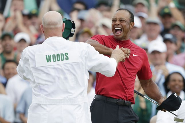 Tiger, a two-part series exploring the rise, fall, and epic comeback of golfer Tiger Woods, will premiere Dec. 13 on HBO. File Photo by John Angelillo/UPI