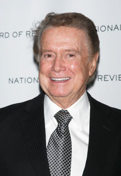 Regis Philbin arrives for the National Board of Review of Motion Pictures Awards Gala at Cipriani in New York on January 12, 2010. UPI /Laura Cavanaugh