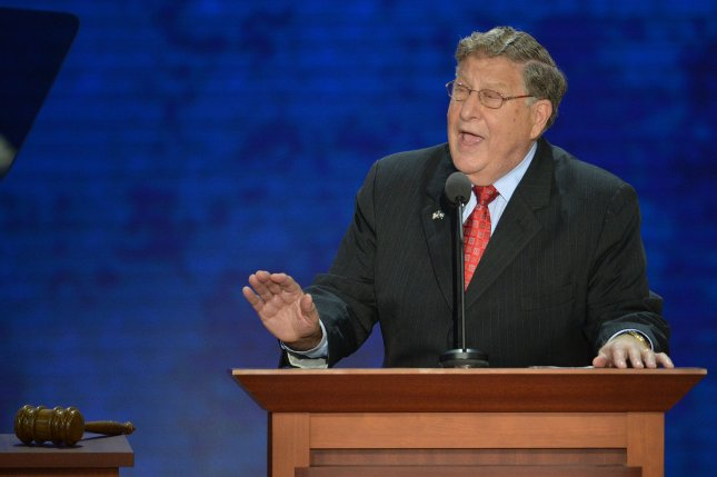 Former New Hampshire Gov. John Sununu at the 2012 Republican National Convention in Tampa, Fla., Aug. 28, 2012. UPI/Kevin Dietsch