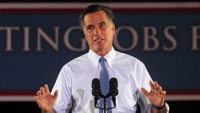 Mitt Romney's history in the financial industry is clearly an asset for his campaign when it comes to fundraising. June 7 file photo. UPI/Bill Greenblatt