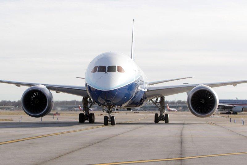 A Boeing 787 Dreamliner (File/UPI/Bill Greenblatt)
