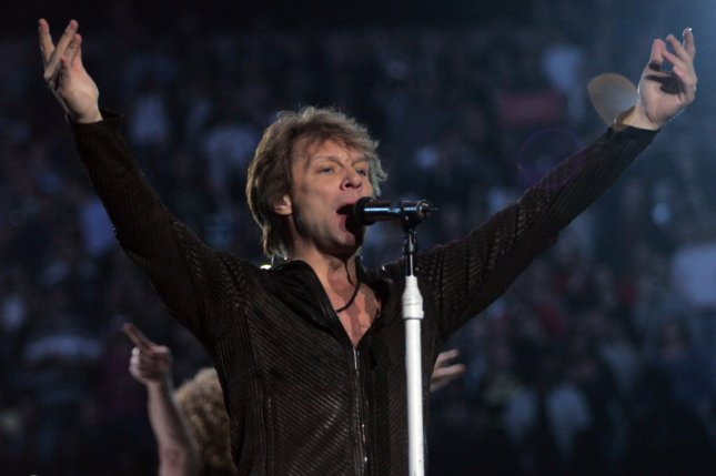 Bon Jovi performs in concert at Madison Square Garden in New York on February 24, 2011. (File/UPI /Laura Cavanaugh)
