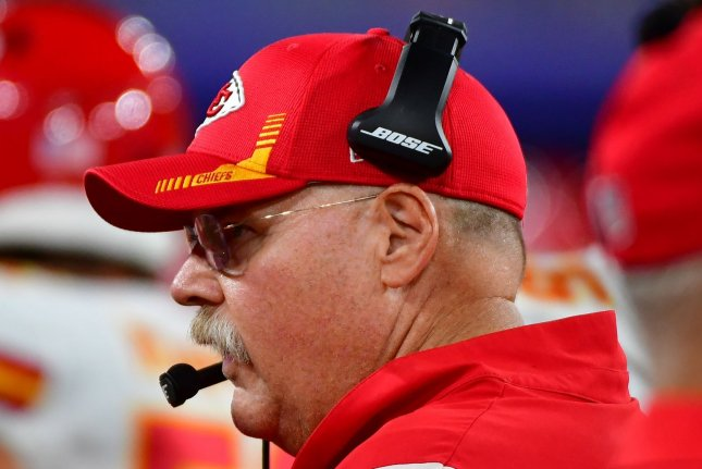 Chiefs coach Andy Reid 'doing well' after departing stadium in ambulance