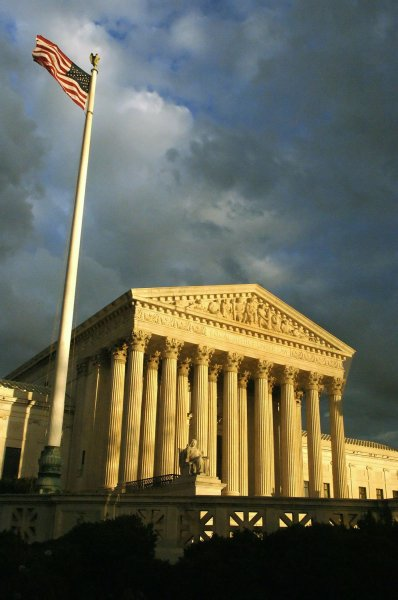 The United States Supreme Court as the sun sets over Washington, on November 16, 2006. (UPI Photo/Kevin Dietsch/FILES)