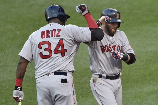 cheaper 5dc27 e6097 Boston Red Sox to retire David Ortiz's No. 34 jersey - UPI.com