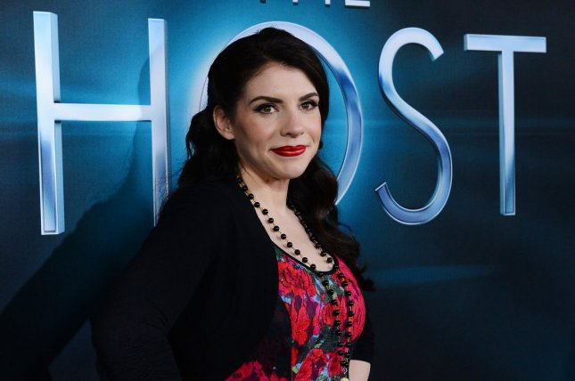 Stephenie Meyer attends the Los Angeles premiere of The Host on March 19, 2013. The writer will executive produce the supernatural drama The Rook at Starz. File Photo by Jim Ruymen/UPI