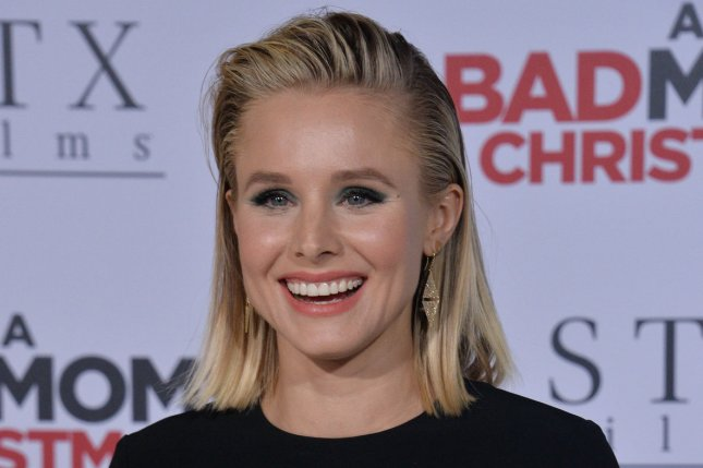 Kristen Bell attends the Los Angeles premiere of A Bad Moms Christmas on October 30. File Photo by Jim Ruymen/UPI