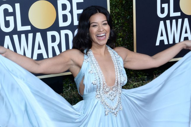 Jane the Virgin star Gina Rodriguez. The CW has ordered pilots based on Jane the Virgin and Riverdale. File Photo by Jim Ruymen/UPI