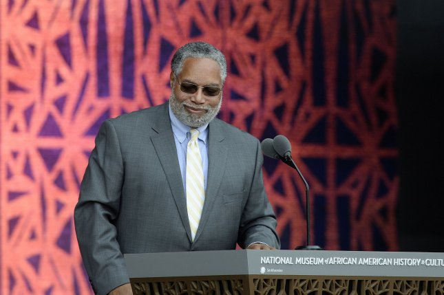 Lonnie Bunch at the opening ceremony of the Smithsonian National Museum of African American History and Culture on September 24, 2016 in Washington, D.C. File Photo by Olivier Douliery/UPI