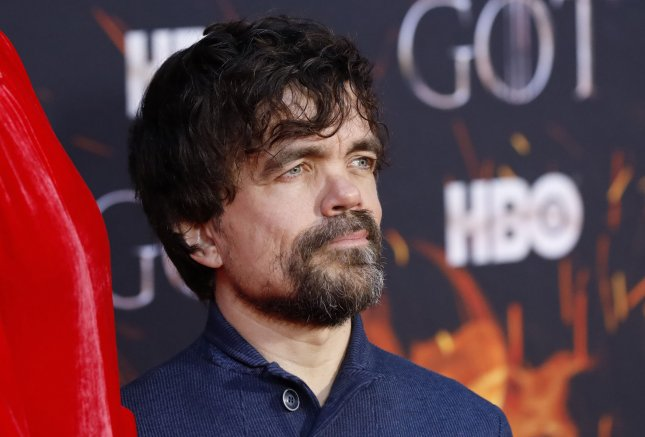 Actor Peter Dinklage's fantasy drama Game of Thrones is the most nominated show going into Sunday night's Emmy Awards ceremony. File Photo by John Angelillo/UPI