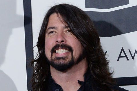 (L-R) Musicians Krist Novoselic, Dave Grohl, and Pat Smear arrive for the 56th annual Grammy Awards at Staples Center in Los Angeles on January 26, 2014. UPI/Jim Ruymen
