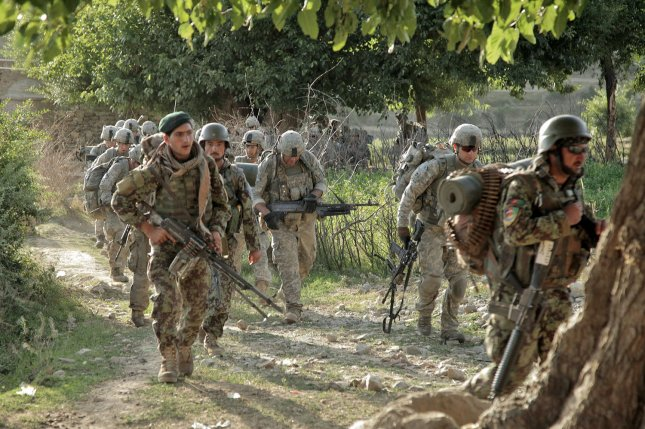 Afghan security forces recaptured key locations in the city of Kunduz on Thursday, a claim disputed by the Taliban. File photo by Tia Sokimson/U.S. Army