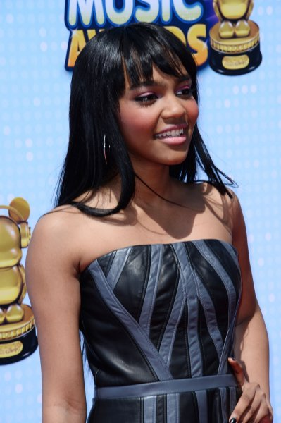 Descendants 2 co-star China Anne McClain attends the Radio Disney Music Awards in Los Angeles on April 25, 2014. File Photo by Jim Ruymen/UPI