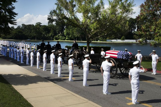 John McCain buried at Naval Academy Cemetery