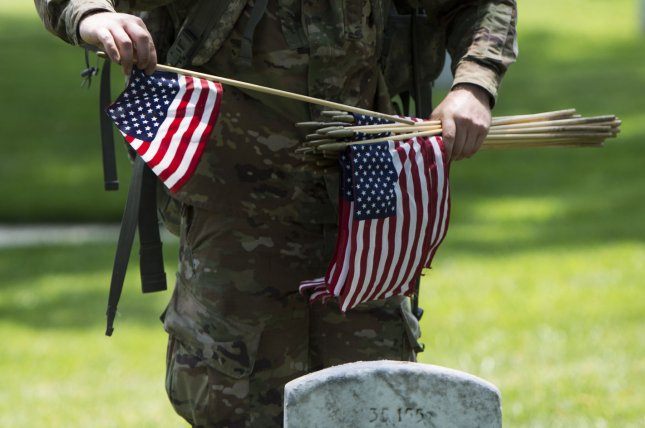 Staff Sgt. Christopher F. Pantos, 55, of the U.S. Army Reserve was found dead in Kuwait Monday as the result of a non-combat related incident, the Department of Defense announced Wednesday.File Photo by Kevin Dietsch/UPI