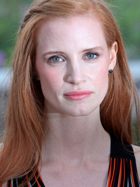 Jessica Chastain arrives at a photocall for the film Lawless during the 65th annual Cannes International Film Festival in Cannes, France on May 19, 2012. UPI/David Silpa