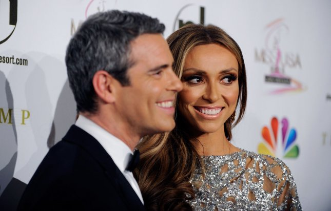 Television personalities Andy Cohen, left, and Giuliana Rancic arrive at the 2012 Miss USA competition at the Planet Hollywood Resort and Casino in Las Vegas, Nevada on June 3, 2012. UPI/David Becker
