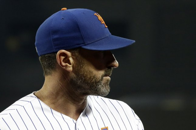 New York Mets manager Mickey Callaway guided the team to an 86-win season this year but missed the postseason. File Photo by John Angelillo/UPI