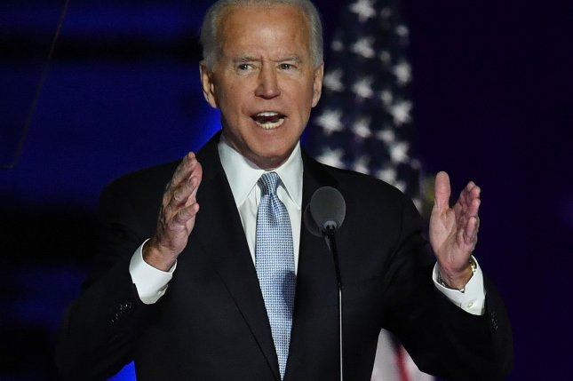 President-elect Joe Biden said Monday the U.S.military must update its cyberattack strategy to keep pace with malign cyber actors. File Photo by Pat Benic/UPI