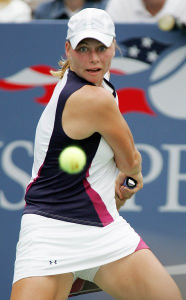 Vera Zvonareva, shown here in a 2006 tournament, extended her2008 WTA-best match win total to 32 with a victory Monday at the Italian Open.
