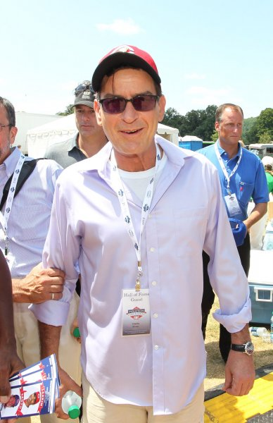 Charlie Sheen, seen at the Clark Sports Center in 2012, revealed Tuesday he has been HIV positive for the past four years. Photo by Bill Greenblatt/UPI