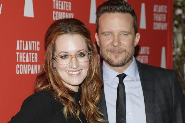 Ingrid Michaelson and Will Chase arrive on the red carpet at the 2016 Atlantic Theater Company Actors Choice Gala on March 7, 2016 in New York City. File Photo by John Angelillo/UPI