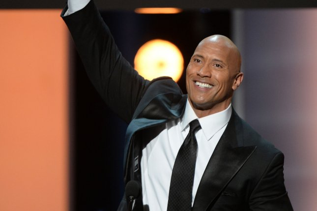 Dwayne Johnson hosted Saturday Night Live for the fifth time this weekend and had a comedic bit about running for the U.S. presidency in 2020. File Photo by Jim Ruymen/UPI