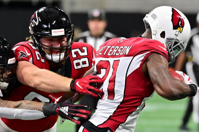 Arizona Cardinals cornerback Patrick Peterson (21) has been one of the best defensive backs in the NFL since entering the league as the No. 5 overall pick in the 2011 NFL Draft. File Photo by David Tulis/UPI