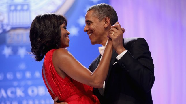 U.S. President Barack Obama and first lady Michelle Obama dance together during the Inaugural Ball at the Walter Washington Convention Center January 21, 2013 in Washington, DC. President Obama was sworn-in for a second term as the 44th President of the United States. UPI/Chip Somodevilla/pool