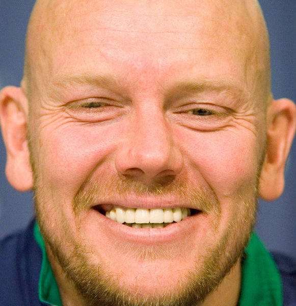 Mats Sundin, shown at a news conference Dec. 30, 2008. (UPI Photo/Heinz Ruckemann)