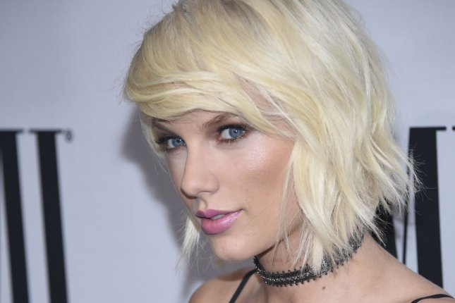 Taylor Swift attends the 64th Annual BMI Pop Awards in Beverly Hills on May 10, 2016. File Photo by Phil McCarten/UPI