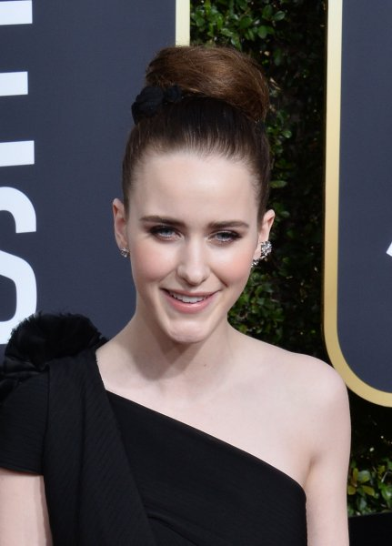 The Marvelous Mrs. Maisel star Rachel Brosnahan attends the 75th annual Golden Globe Awards on January 7. Photo by Jim Ruymen/UPI
