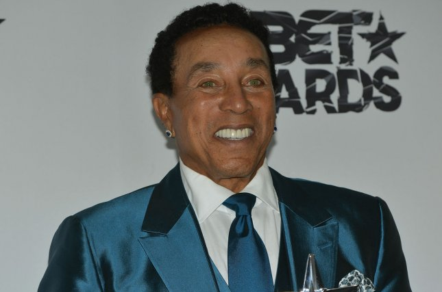 Smokey Robinson is to perform at the Aretha Franklin tribute concert CBS is taping this weekend in Los Angeles. File Photo by Christine Chew/UPI