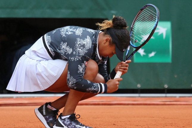 Naomi Osaka of Japan is looking to win her third consecutive Grand Slam title at the 2019 French Open in Paris. Photo by David Silpa/UPI