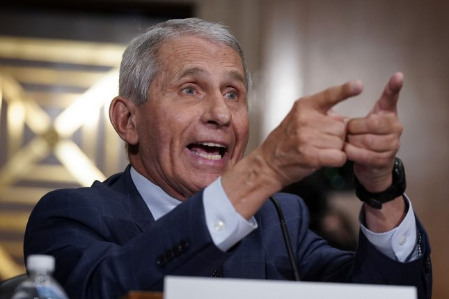 Dr. Anthony Fauci told Sen. Rand Paul, R-Ky., you do not know what you're talking about after he accused Fauci of lying about the National Institute of Health of Health's role in funding research at a Wuhan lab.Pool Photo by J. Scott Applewhite/UPI