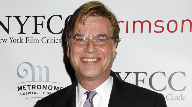 Aaron Sorkin in New York on January 9. UPI /Laura Cavanaugh