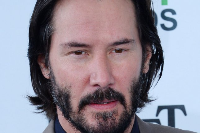 Actor Keanu Reeves at the 29th annual Film Independent Spirit Awards on March 1, 2014. UPI/Jim Ruymen